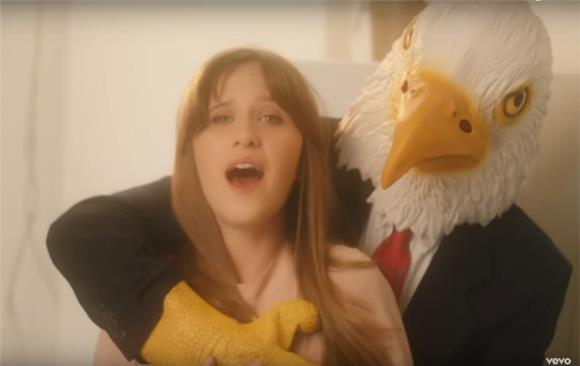 Watch Amber Coffman Dance With a Giant Bald Eagle in New Video For 'No Coffee'