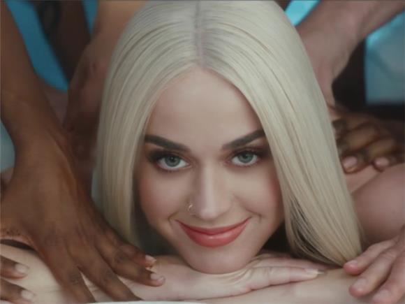 Katy Perry is an Objectified Piece of Meat in New Video 'Bon Appetit'