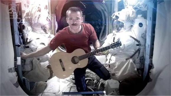 Watch Chris Hadfield's Incredible 'Space Oddity' One Last Time