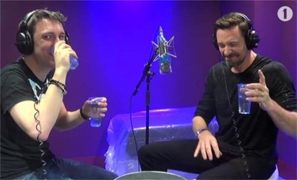 Kylie Minogue and Hugh Jackman Share Hilarious Innuendo Bingo Encounter
