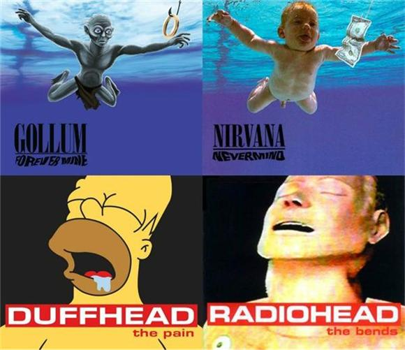 25 Famous Pop Culture Album Covers Reimagined