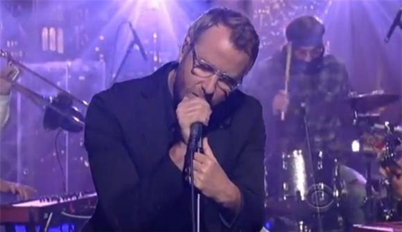 The National Were Glum and Great on Letterman