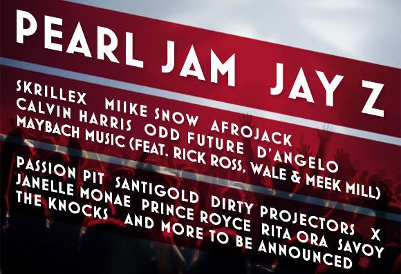 New Bands Added to Jay-Z Curated Festival