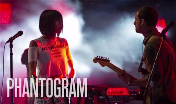 Watch Phantogram K-O 'Black Out Days' Live