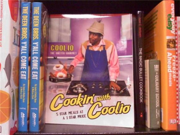 pic of the day: cookin' with coolio
