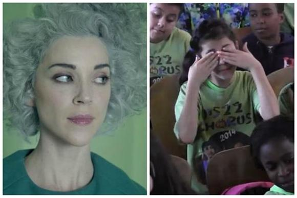 PS22 Chorus Covers St. Vincent's 'Digital Witness'