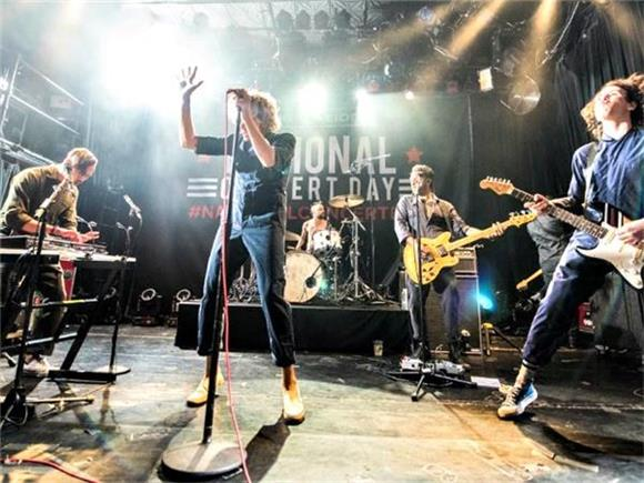 AWOLNATION Performs a Killer Set for National Concert Day