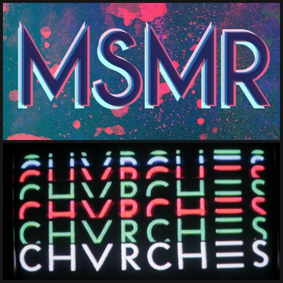 CHVRCHES Inject 80s Euphoria Into MS MR's 'Hurricane'