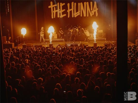 The Hunna Play a Proper Rock Show for Fans at The Roundhouse in London