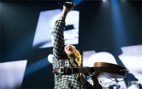 The Front Row: Ed Sheeran At The Prudential Center