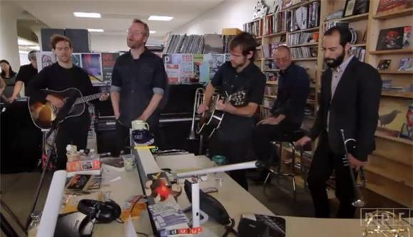 Watch The National Immerse NPR's Tiny Desk In Gorgeous Gloom