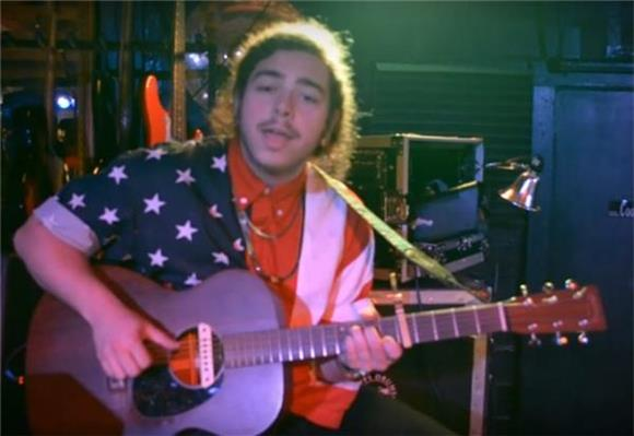 WTF of The Day: Post Malone Goes Acoustic