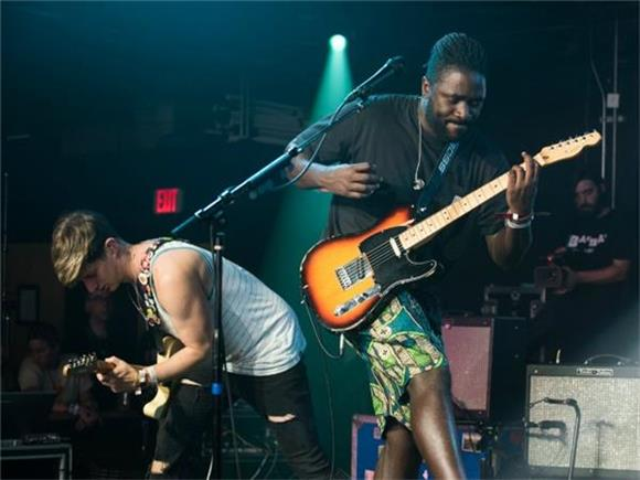 Now Playing: Bloc Party Bring Classics New and Old By The Baeble Bounce House
