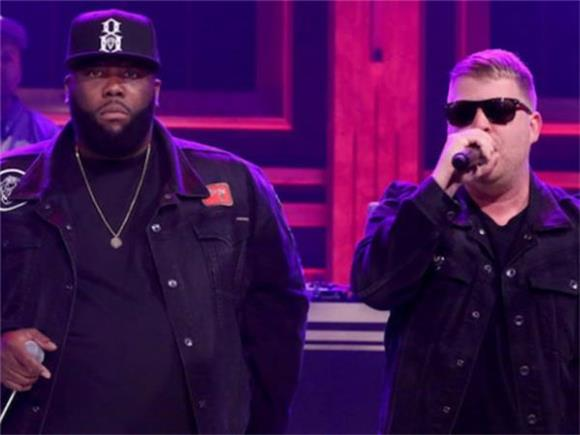 Watch DJ Shadow and Run the Jewels Perform 'Nobody Speak' on 'Fallon'