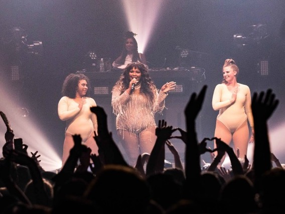 Lizzo Works It at Webster Hall
