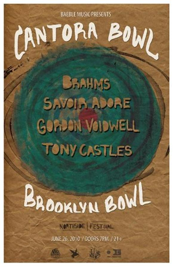announcing: baeblemusic presents cantora bowl at the northside festival