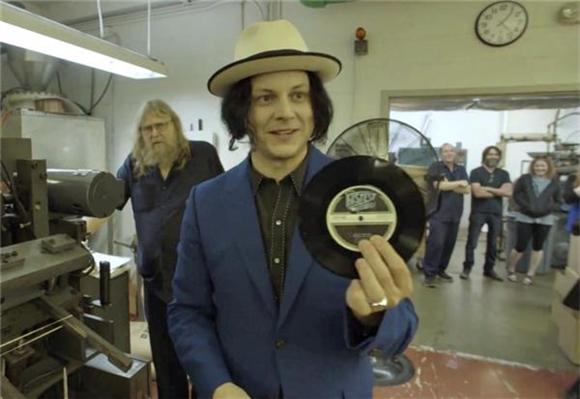 Jack White's 'Lazaretto' Breaks Vinyl Sales Record
