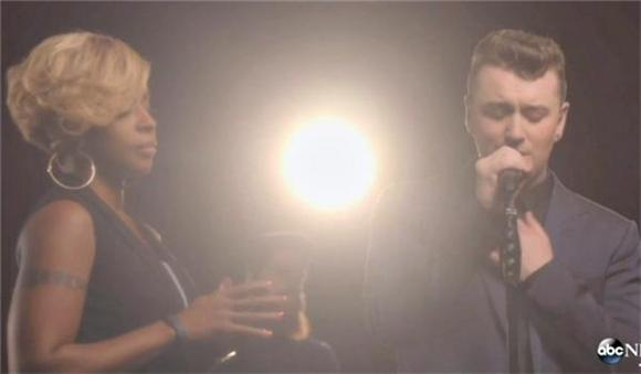 Sam Smith and Mary J. Blige Exchange 'Stay With Me' Soul on GMA