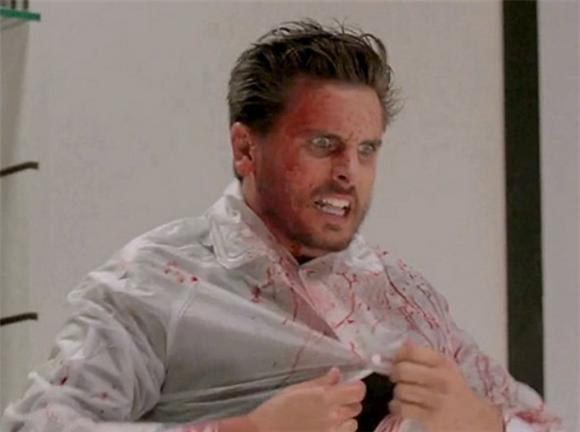 Scott Disick Channels American Psycho In Yeezus Promo Video