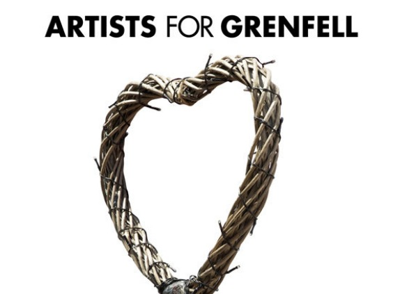 U.K. Artists Pay Tribute to Those Affected By Grenfell Tragedy