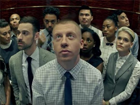 Macklemore & Ryan Lewis Give The Office a