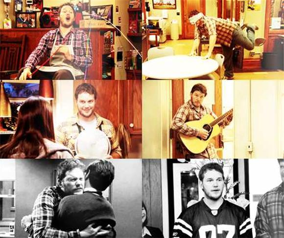 Andy Dwyer Parks And Recreation Musical Montage
