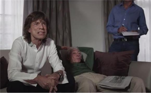 Watch Mick Jagger Mock 'Wrinkly Old' Monty Python