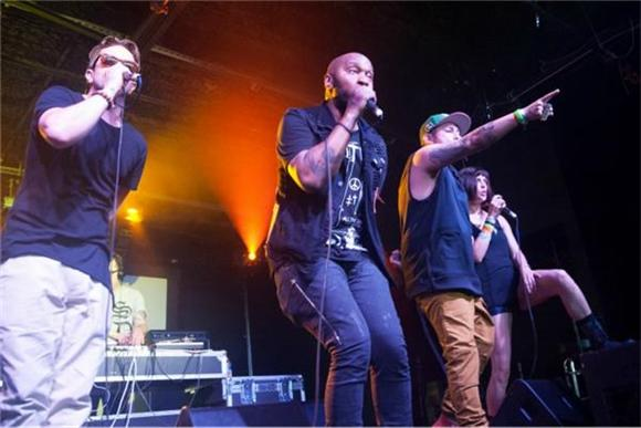 NOW PLAYING:  Doomtree's Hyperactive Garage Gig