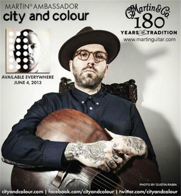 The Hookup: Win a Martin Guitar from City and Colour!