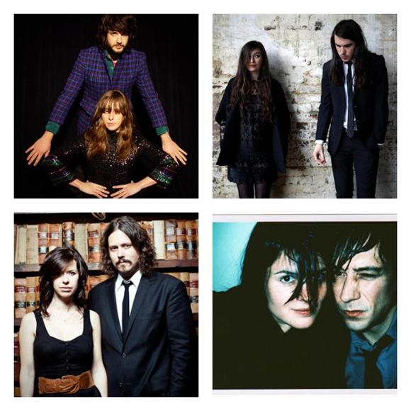 Top 10 Male-Female Rock Duos