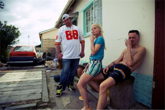 die antwoord's first U.S. release, streaming now