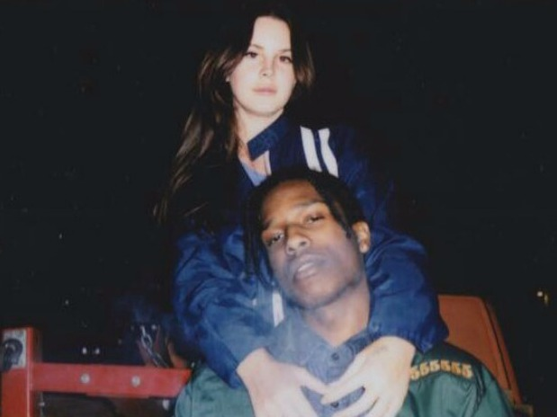 A$AP Rocky answers Lana Del Rey video call on the toilet