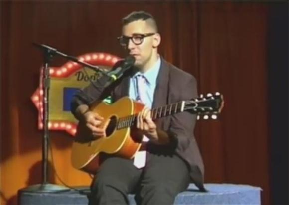 Watch Bleachers' Amazing Public Access Promo