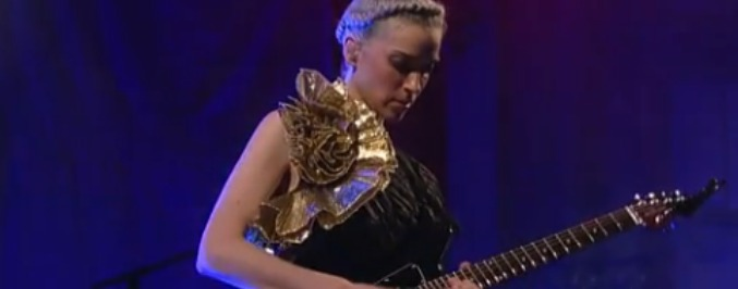 Watch St. Vincent's Incredible, Hour-Long 'Live on Letterman' Set
