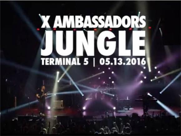 X Ambassadors: Watch The Future Monsters Of Rock Tear Apart Terminal 5