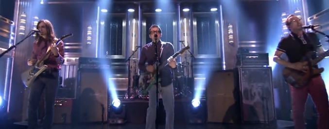 Weezer Take Jimmy Fallon 'Back to the Shack'