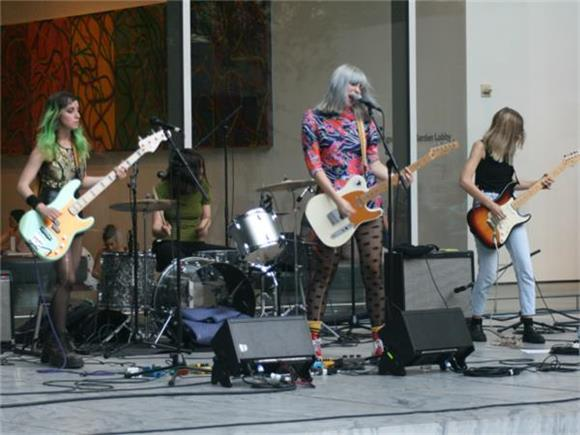 Potty Mouth Bring the Punk Energy to MoMA