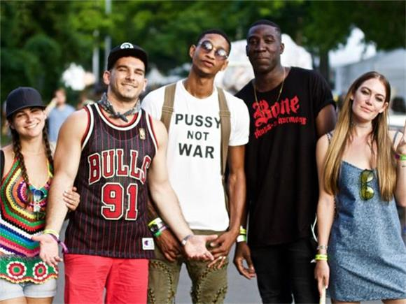 GALLERY: NYC Fashionistas Dress For The Heat at Panorama Music Festival