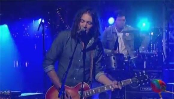 The War On Drugs Give Letterman 'Red Eyes'