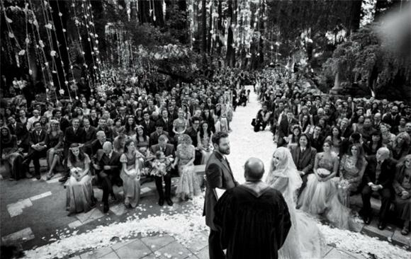 The Outrageous Guest List at Sean Parker's LOTR-Themed Wedding
