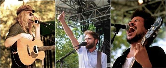 Out And About: Passenger, Stu Larsen, And Liam Bailey @ Central Park Summerstage
