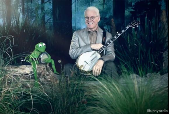 Steve Martin Rejoins Kermit For Dueling Banjos Showdown