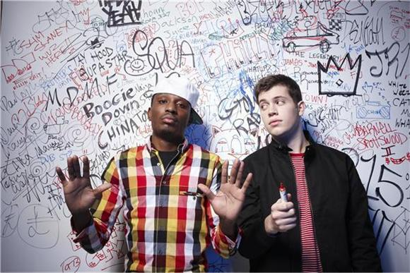 out and about: chiddy bang