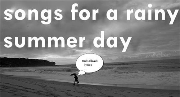 feature: songs for a rainy summer day