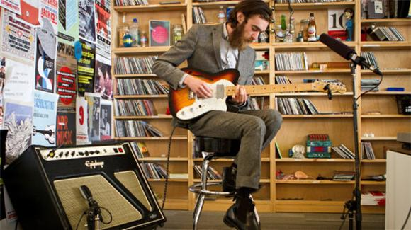 Keaton Henson Finally Speaks Up (Sort Of) For NPR's Tiny Desk