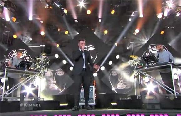 Watch Sam Smith and Disclosure Reunite on Kimmel