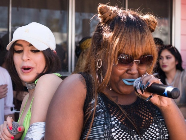 CupcakKe Steals the Show During Charli XCX's Set at Lollapalooza