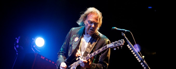 Neil Young Unleashes Political Fury