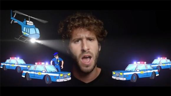 Lil Dicky Gets Way 'Too High'