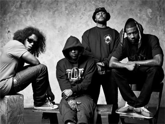 Jay Rock and Kendrick Lamar Get the Black Hippy Crew Back Together